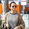 Exclusif - Selena Gomez est allée prendre le petit-déjeuner avec une amie à Hollywood, le 8 mars 2018