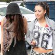 Selena Gomez et Francia Raisa à Beverly Hills le 8 mars 2013