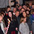 Le prince Albert II de Monaco, la princesse Charlene et leurs enfants, le prince Jacques et la princesse Gabriella lors de la traditionnelle célébration de la Sainte Dévote, sainte patronne de Monaco, à Monaco le 26 janvier 2018 © Bruno Bebert / Bestimage