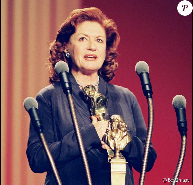 Archives - Geneviève Fontal, Molière du meilleur second rôle féminin pour Délicate Balance, en 1999