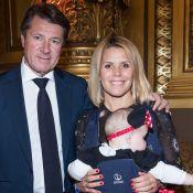 Laura Tenoudji et Christian Estrosi : Ambiance féerique avec leur petite Bianca
