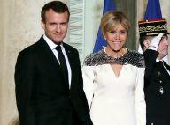 Emmanuel et Brigitte Macron, chic et radieux, mettent le Luxembourg à l'honneur