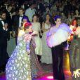 Charlotte Casiraghi pendant la fête lors du 64e Bal de la Rose sur le thème de Manhattan dans la Salle des Etoiles au Sporting Monte-Carlo à Monaco le 24 mars 2018. © Gaëtan Luci / Palais Princier / SBM via Bestimage