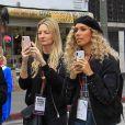 Leona Lewis - Les célébrités et des centaines de milliers de manifestants protestent contre les armes à feu (March For Our Lives) à Los Angeles, le 24 mars 2018