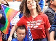 Kim Kardashian et North, Alyssa Milano et son fils... Les stars à la manif' !