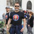 Nick Offerman - Les célébrités et des centaines de milliers de manifestants protestent contre les armes à feu (March For Our Lives) à Los Angeles, le 24 mars 2018