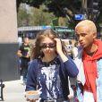 Jaden Smith et sa petite amie Odessa Adlon - Les célébrités et des centaines de milliers de manifestants protestent contre les armes à feu (March For Our Lives) à Los Angeles, le 24 mars 2018