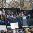 Emma Gonzalez - Les célébrités prennent la parole et protestent contre les armes à feu (March For Our Lives) à New York, le 24 mars 2018