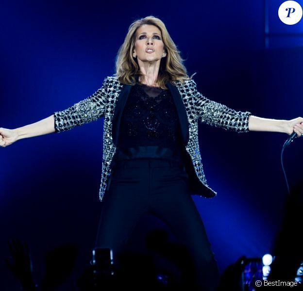 Concert de Céline Dion à Berlin, le 23 juillet 2017