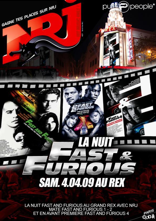 Serez-vous sélectionnés pour aller voir Fast and Furious 4 ?