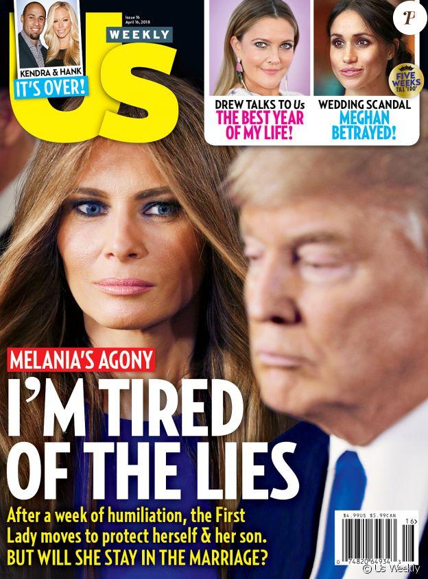"Couverture du magazine ""Us Weekly""."