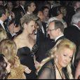 Charlene Wittstock et le Prince Albert II ont fait honneur au concert du légendaire Chuck Berry, lors du 55e Bal de la Rose, à Monaco, le 28 mars 2009 !