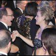 Le Prince Albert II et Charlene Wittstock se sont éclatés sur les tubes rock de Chuck Berry, lors du 55e Bal de la Rose, à Monaco, le 28 mars 2009 !