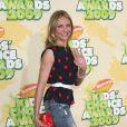 Cameron Diaz était aux 22ème Kids Choice Awards, hier soir, à Los Angeles