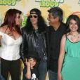 Slash, Perla Ferrar, London, George Lopez, Mayan Lopez et Cash Anthony étaient aux 22ème Kids Choice Awards, hier soir, à Los Angeles