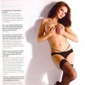La sensuelle Alessandra Alores, Miss Allemagne 2003... enlève le haut ! Et c'est une belle idée...