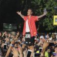 Justin Bieber en concert au British Summer Time à Hyde Park à Londres, le 2 juillet 2017.