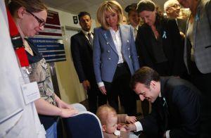 Brigitte et Emmanuel Macron mobilisés pour l'autisme, touchés par les enfants