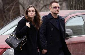 Bono : balade romantique avec... sa jolie fille Jordan !
