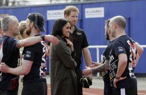 Prince Harry et Meghan Markle : Tactiles face aux sportifs des Invictus Games