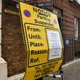 Des restrictions de stationnement ont été mises en place, le 8 avril 2018, aux abords de la maternité de l'hôpital St Mary à Londres, où la duchesse Catherine de Cambridge doit donner naissance à son troisième enfant.