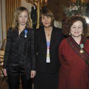 Sylvie Testud et Catherine Arditi décorées... devant Pierre Palmade, Pierre Arditi, Aure Atika !