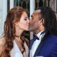 Jackie Chamoun Karembeu dévoile deux photo de son mariage avec Christian Karembeu sur Instagram, avril 2018.
