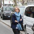 Françoise Nyssen, ministre de la culture - Les personnalités rendent hommage à Jacques Higelin au Cirque d'Hiver à Paris le 12 avril 2018.
