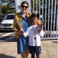 Cristiano Ronaldo Jr., fils de Cristiano Ronaldo, a été récompensé en tant que meilleur buteur de son école, a annoncé CR7 avec cette photo publiée sur Instagram le 14 avril 2018.