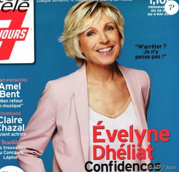 """Magazine """"Télé 7 Jours"""", en kiosques lundi 23 avril 2018."""