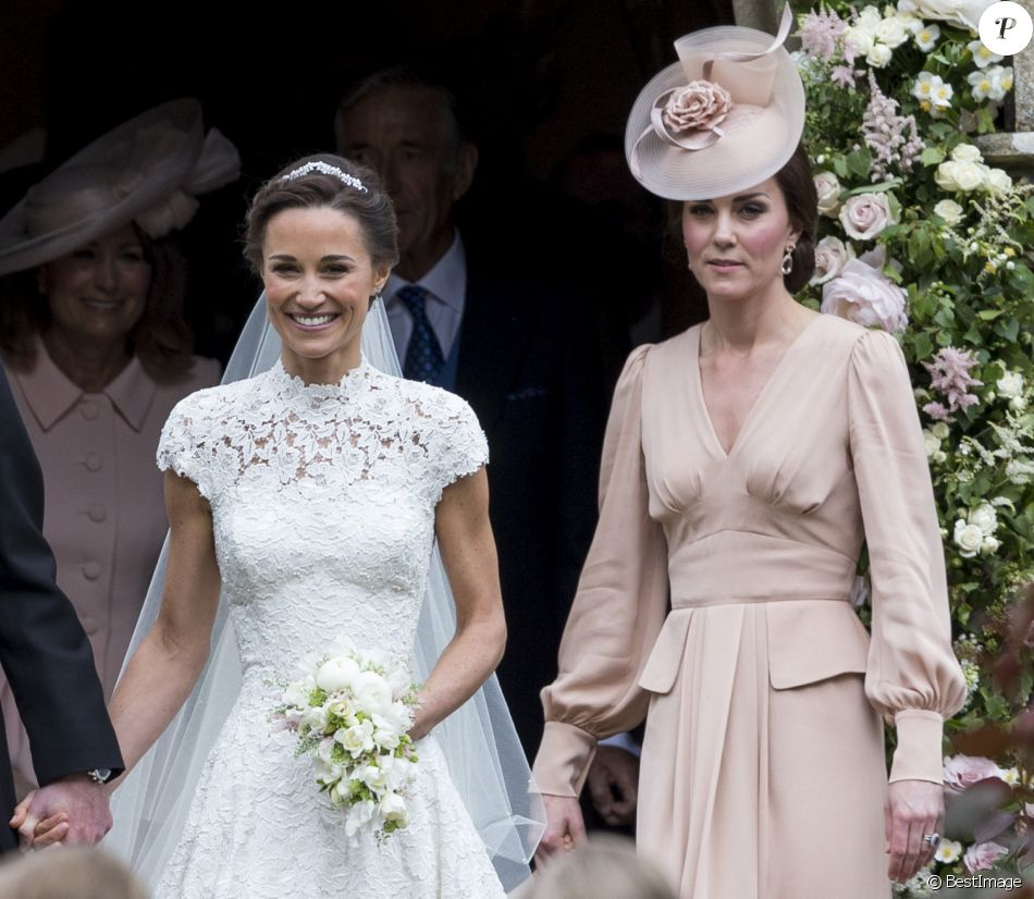 Pippa Middleton et sa soeur Catherine (Kate) Middleton, duchesse de  Cambridge , Mariage