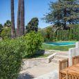 Ellen Pompeo et son époux Chris Ivery vendent leur villa hispanique des années 1920 dans le quartier historique de Whitely Heights, sur les hauteurs d'Hollywood, avril 2018.