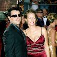 Matt Leblanc et sa femme Melissa McKnight aux Emmy Awards en 2003.