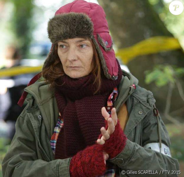 "Corinne Masiero dans ""Capitaine Marleau"", saison 1 en 2016."