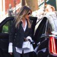 Sarah Jessica Parker à New York, le 20 avril 2018.