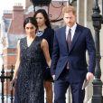 Le prince Harry et Meghan Markle à Londres, le 23 avril 2018.