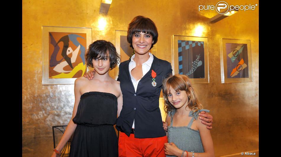 In s de la fressange et ses filles nine 14 ans et - Ines de la fressange filles ...
