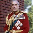 Lord Louis Mountbatten, grand-oncle du prince Charles mort dans un attentat à la bombe de l'IRA en août 1979.