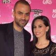 Tony Parker et sa femme Axelle de sortie en amoureux pour voir le musical Mean Girls, photo Instagram 10 avril 2018