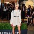 Cara Delevingne assiste à la soirée d'ouverture du magasin Longchamp sur la 5th Avenue à New York, le 3 mai 2018.