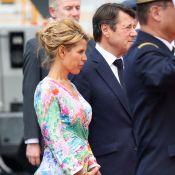 Laura et Christian Estrosi : Couple chic pour l'arrivée du prince Charles à Nice