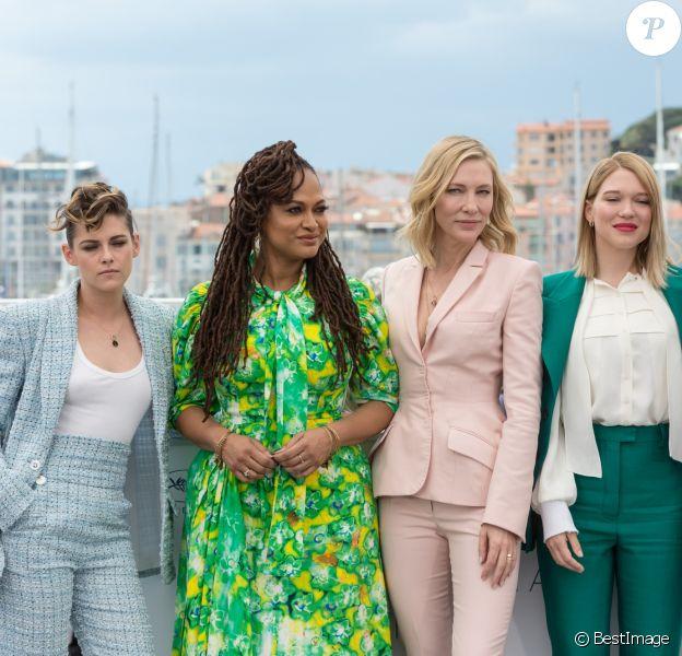 Kristen Stewart, Ava Duvernay, Cate Blanchett, présidente du jury, Léa Seydoux, Khadja Nin lors du photocall du jury du 71ème Festival International du Film de Cannes, le 8 mai 2018. © Borde/Jacovides/Moreau / Bestimage