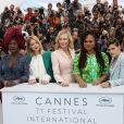 Khadja Nin, Léa Seydoux, Cate Blanchett, présidente du jury, Ava DuVernay et Kristen Stewart - Photocall avec les membres du jury du 71ème Festival International du Film de Cannes le 8 mai 2018. © Borde/Jacovides/Moreau / Bestimage