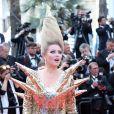 """Elena Lenina - Montée des marches du film """"Everybody Knows"""" lors de la cérémonie d'ouverture du 71ème Festival International du Film de Cannes. Le 8 mai 2018"""