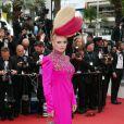 """Elena Lenina - Montée des marches du film """"Ma Loute"""" lors du 69ème Festival International du Film de Cannes. Le 13 mai 2016. © Borde-Jacovides-Moreau/Bestimage"""