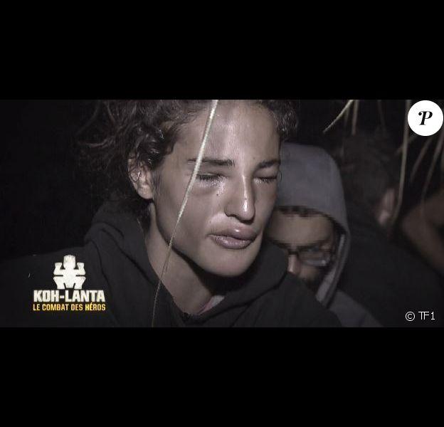 """Cassandre dans """"Koh-Lanta : Le combat des héros"""" (TF1), épisode diffusé vendredi 11 mai 2018."""