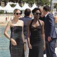 """Lupita Nyong'o, Marion Cotillard au photocall de """"355"""" lors du 71ème Festival International du Film de Cannes, le 10 mai 2018. © Jacovides-Borde-Moreau/Bestimage"""