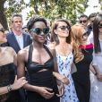 "Lupita Nyong'o, Penelope Cruz (robe Ralph Lauren Collection), Jessica Chastain, Marion Cotillard, Fan Bingbing au photocall de ""355"" lors du 71ème Festival International du Film de Cannes, le 10 mai 2018. © Jacovides-Borde-Moreau/Bestimage"
