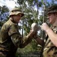Le prince Harry en Australie à Darwin en 2015, sa dernière mission avant de quitter l'armée.