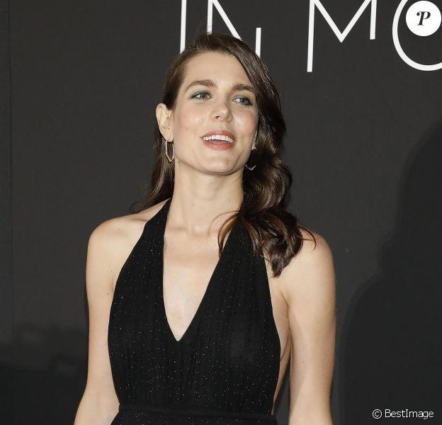 """Charlotte Casiraghi au photocall du dîner """"Kering: Women in Motion Awards"""", qui a lieu Place de la Castre, lors du 71ème Festival International du Film de Cannes, le 13 mai 2018."""